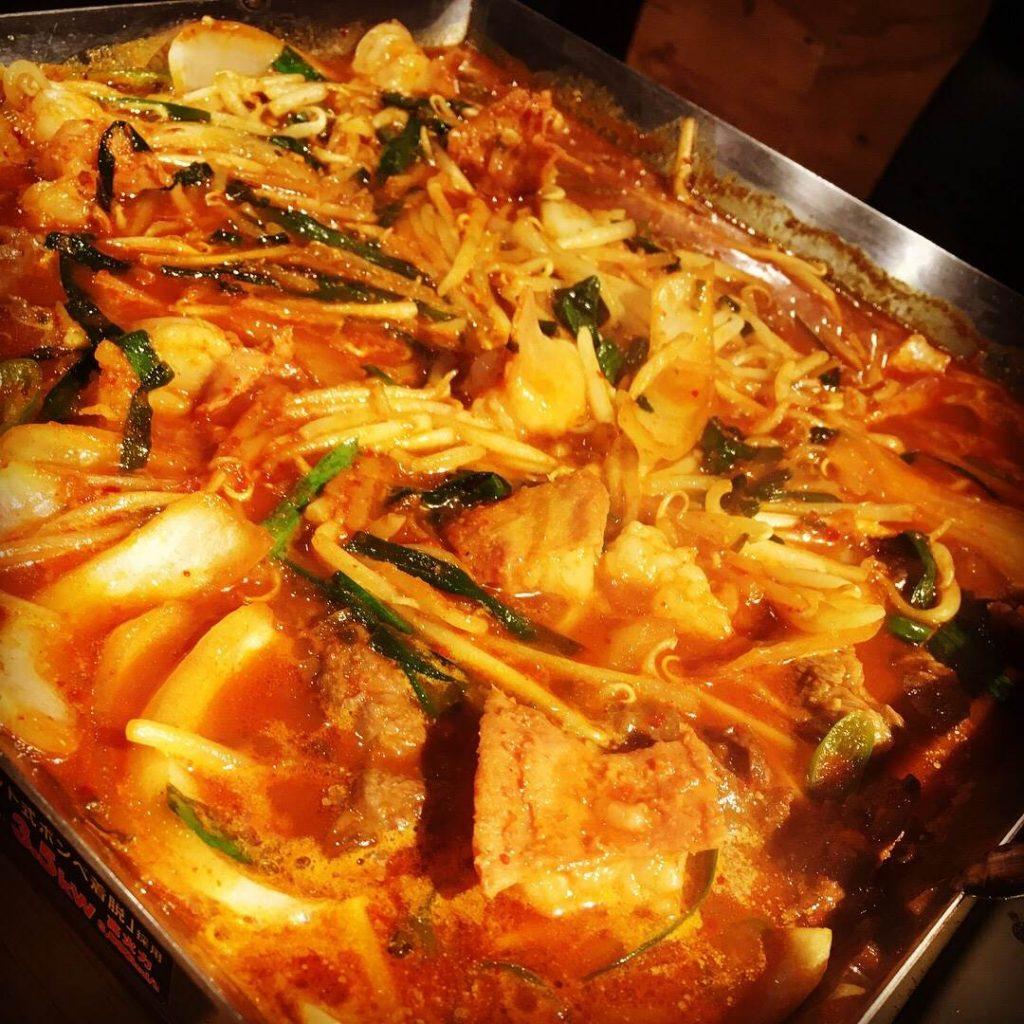 アジョシ 京都 韓国料理 アジョシ鍋