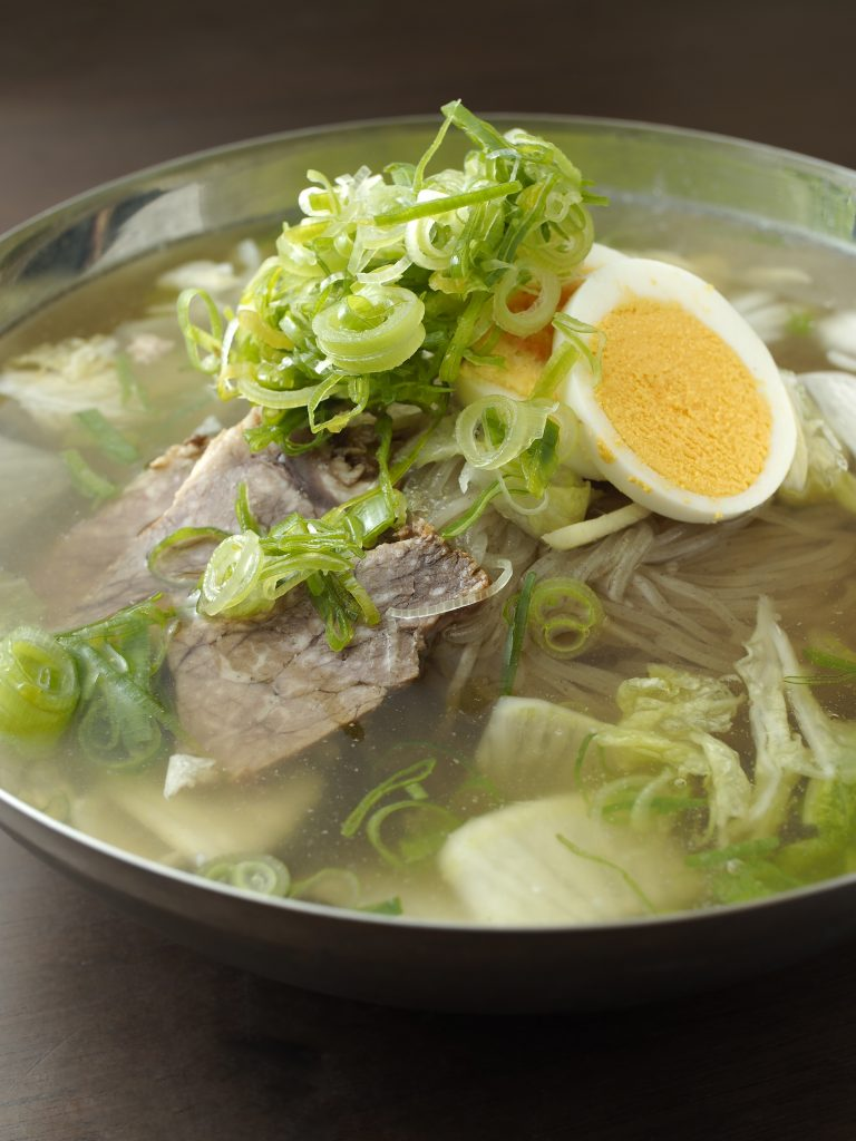 京都冷麺 アジョシ 京都 韓国料理冷麵