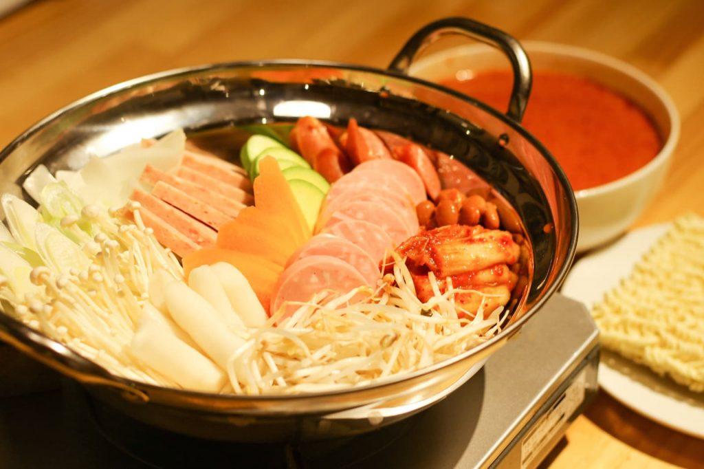 ブテチゲ お鍋 アジョシ 京都 韓国料理