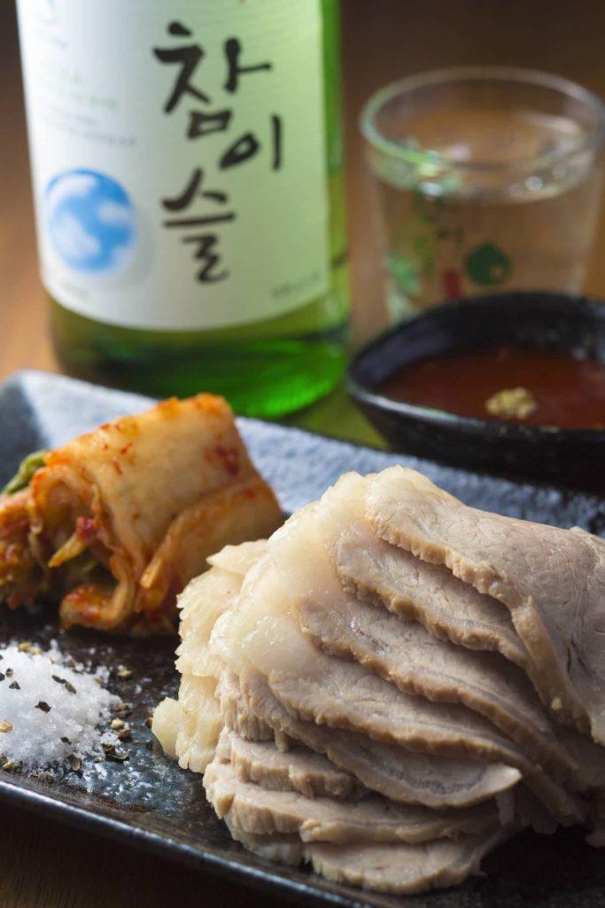 蒸し豚 アジョシ 京都 韓国料理