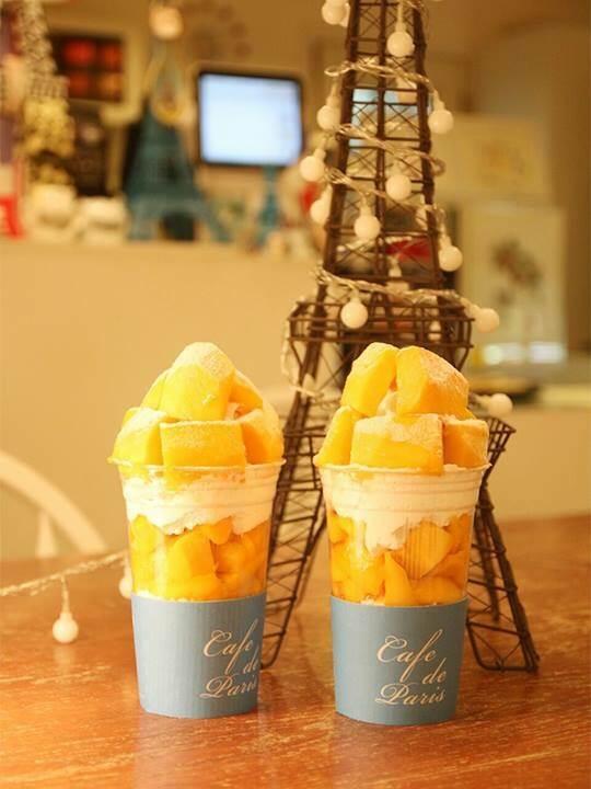 Cafe de Paris (カフェ ド パリ) マンゴーボンボン 망고봉봉(マンゴボンボン)