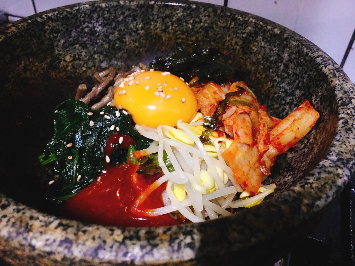 アジョシ 京都 韓国料理 石焼ビビンバ