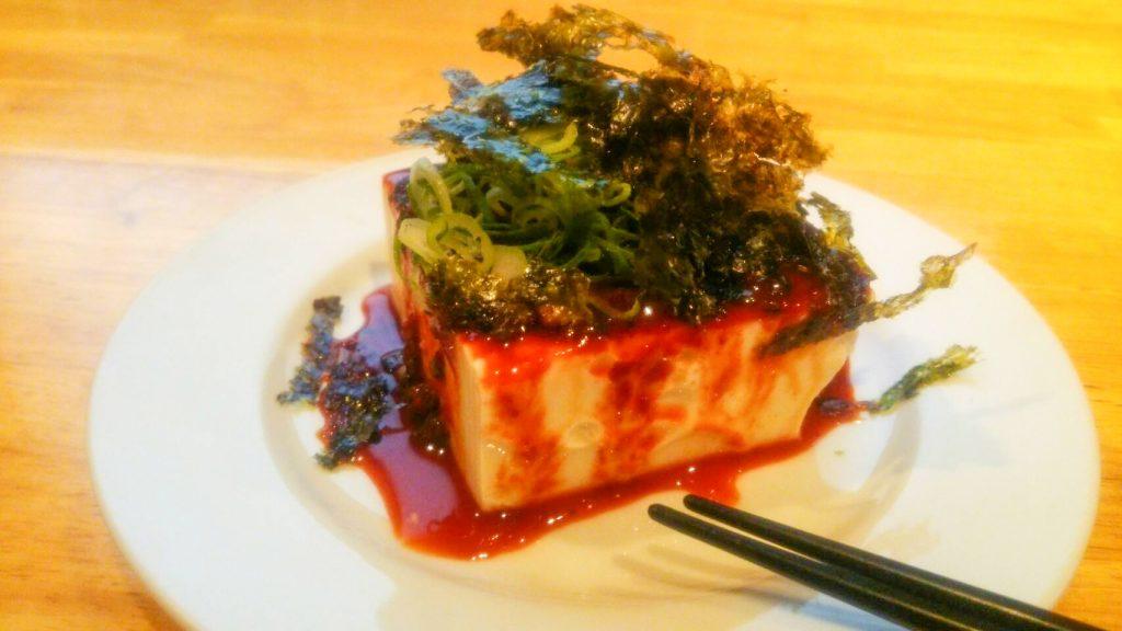 豆腐 韓やっこ アジョシ 京都 韓国料理