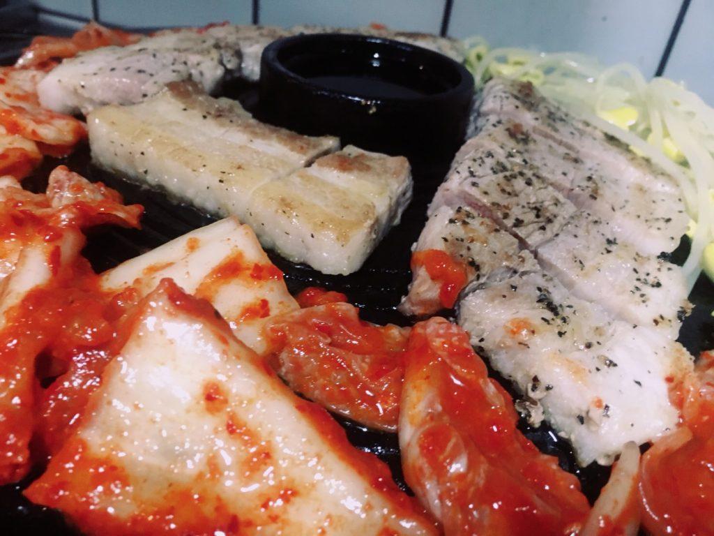 アジョシ 京都 韓国料理 サムギョプサル
