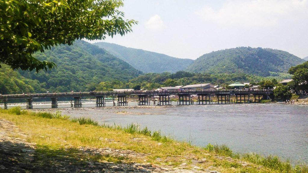 嵐山 観光 避暑地 アジョシ 京都 韓国料理