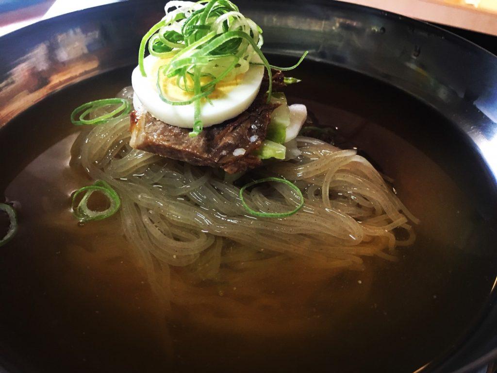 ランチ 韓国冷麺 百万遍 アジョシ 京都 韓国料理