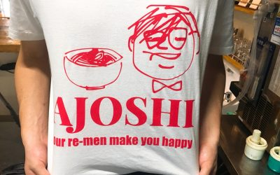 オリジナルTシャツ アジョシ 京都 韓国料理