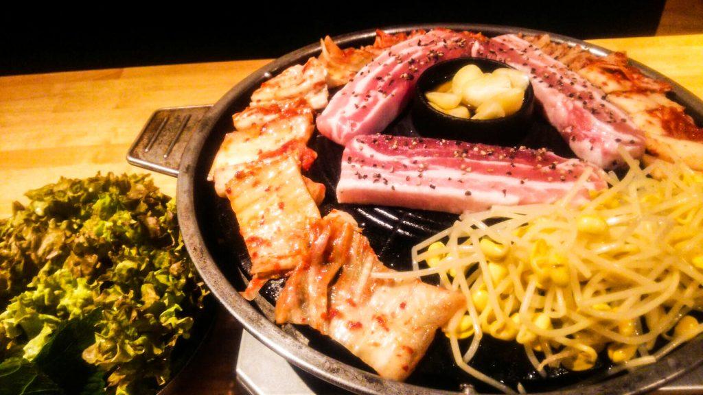 サムギョプサル サンチェ アジョシ 京都 韓国料理