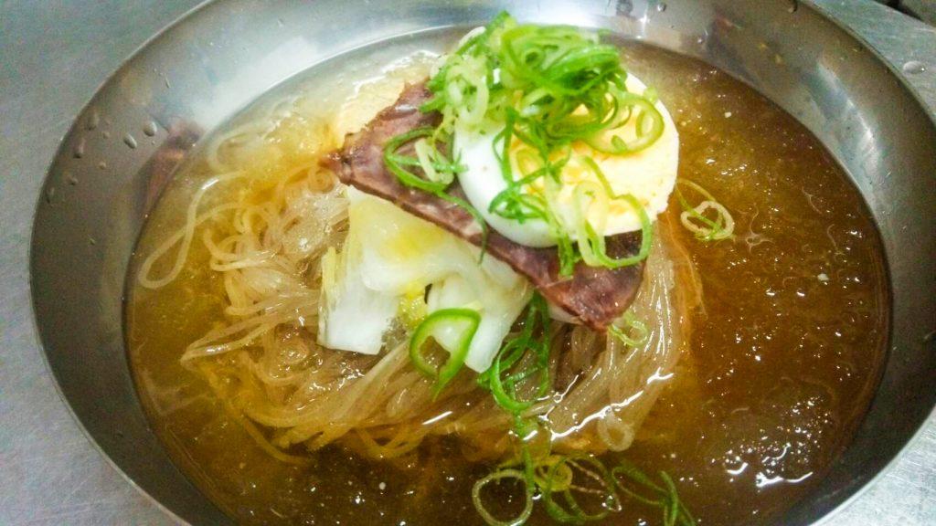 韓国冷麺 アジョシ 京都 韓国料理