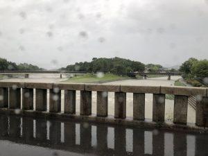 大雨 水害 鴨川 氾濫 アジョシ 京都 韓国料理63