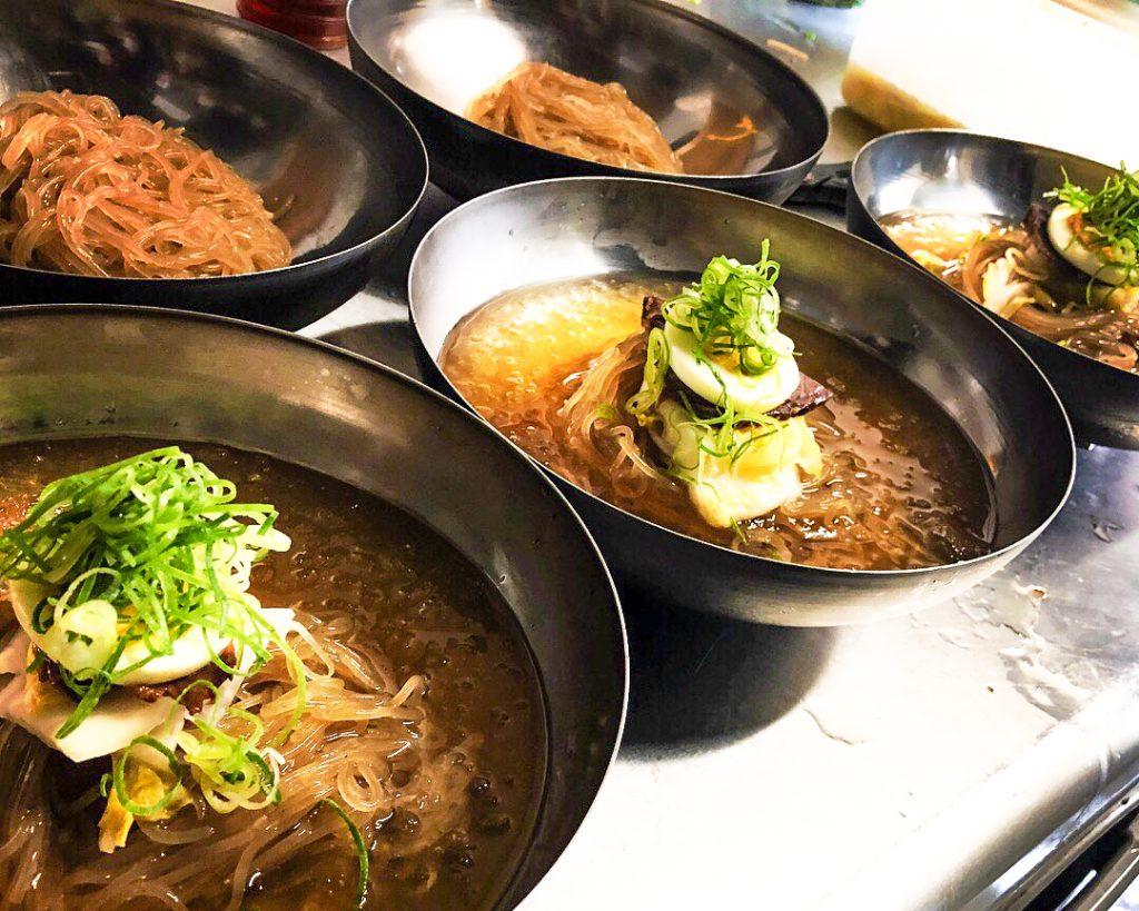 ランチ 韓国冷麺 アジョシ 京都 韓国料理63
