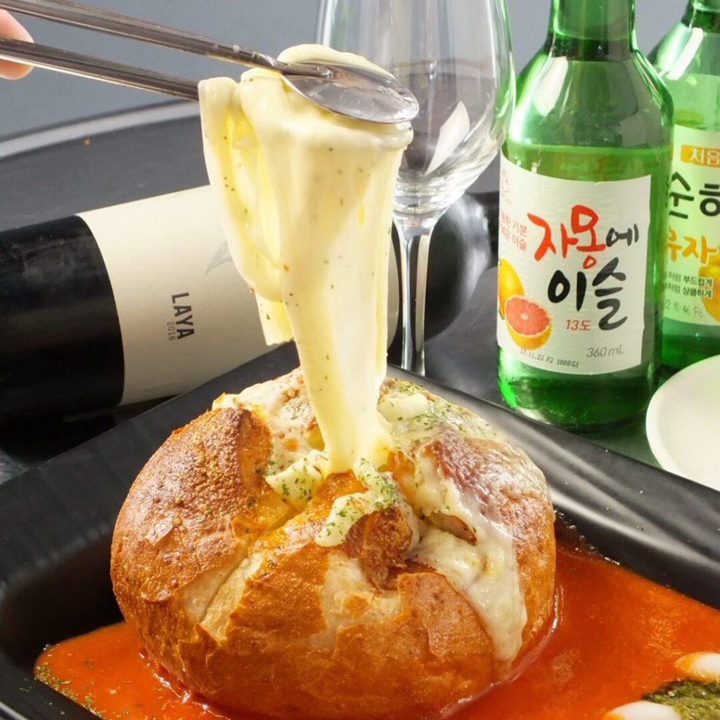 パネチキン アジョシ 京都 韓国料理