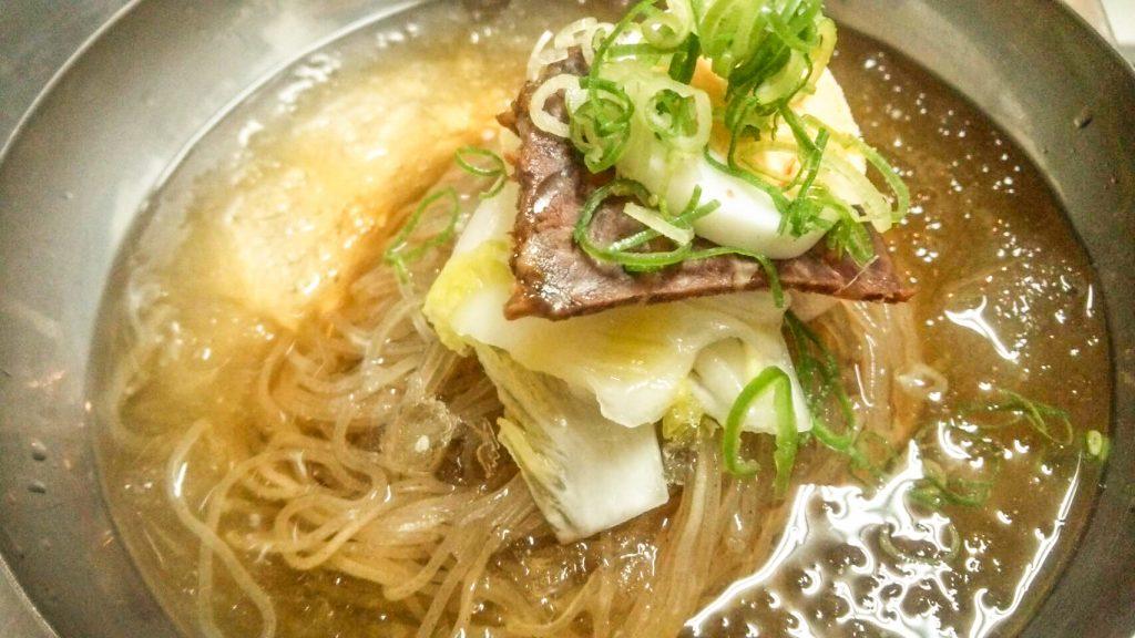 京都冷麺 アジョシ 京都 韓国料理