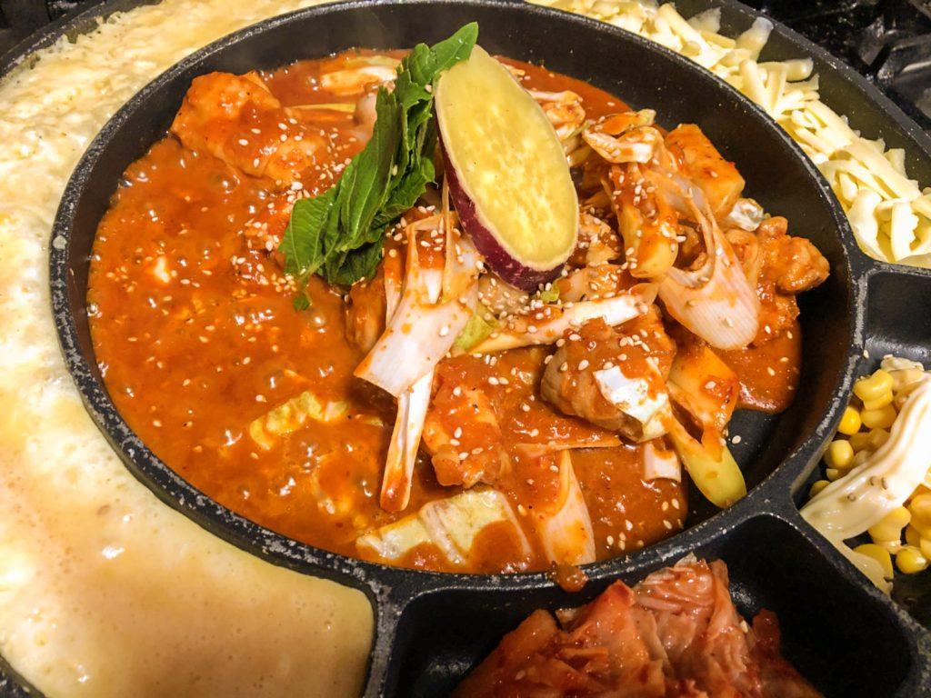 チーズタッカルビ アジョシ 京都 韓国料理