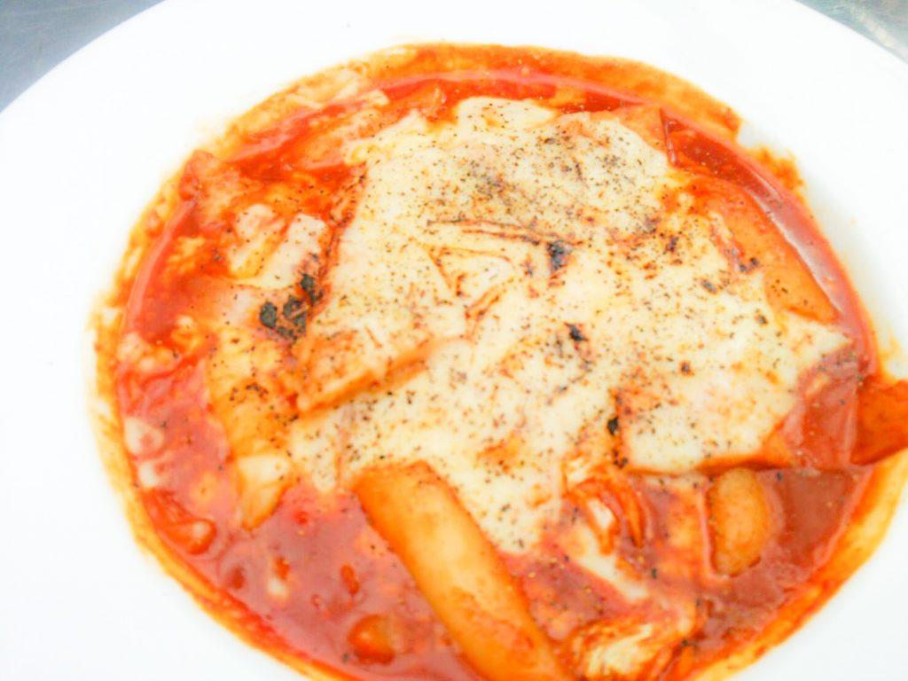 チーズトッポッキ お餅 アジョシ 京都 韓国料理