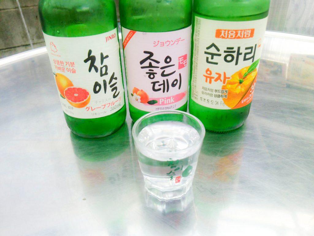 フルーツチャミスル アジョシ 京都 韓国料理