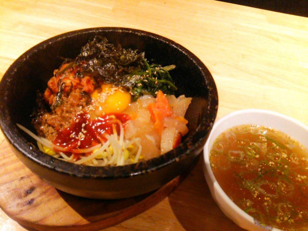 石焼ビビンバ アジョシ 京都 韓国料理