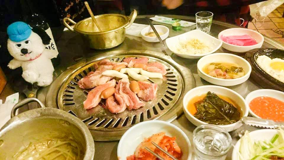 韓国 ソウル アジョシ 京都 韓国料理