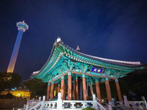 釜山タワー アジョシ 京都 韓国料理