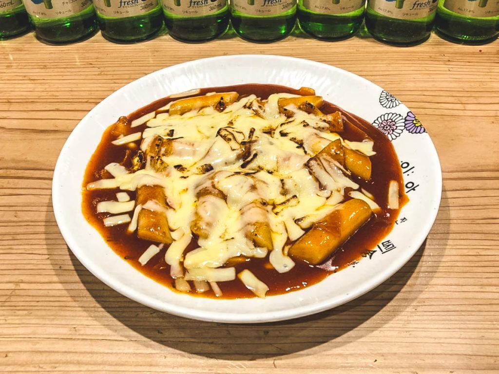 トッポキ + チーズトッピング